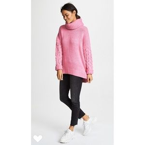 One Teaspoon Rider Roll Neck Sweater Size Small